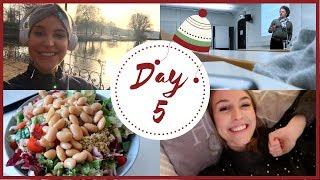 ALSTERRUN & UNIALLTAG   Vlogmas Day 5   Charlotte K.