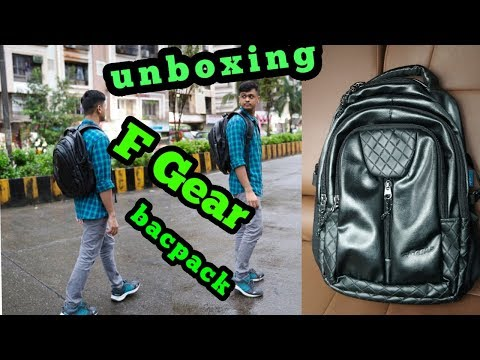 f gear backpack unboxing trial full detail review f gear tycoon bacpack mature bag