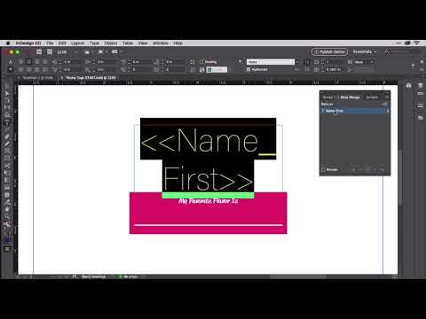 Merging Multiple Records Per Page in InDesign
