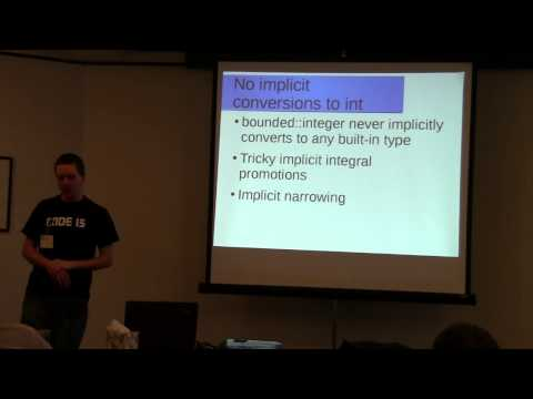 Removing Undefined behavior from integer operations: The bounded::integer library