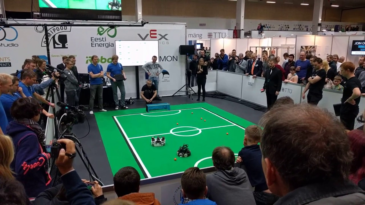 6194fb6b109 Robotex 2016 jalgpalli finaal - YouTube
