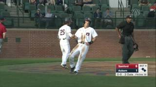 Auburn Baseball vs Samford Highlights