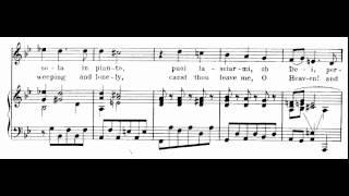 Ah! Mio cor, schernito sei (Alcina - Händel) Score Animation