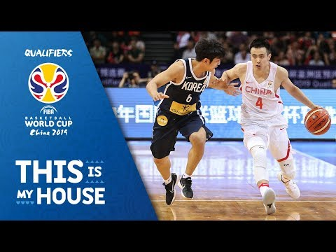 China V Korea - Highlights - FIBA Basketball World Cup 2019 - Asian Qualifiers