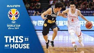 China v Korea - Highlights - FIBA Basketball World Cup 2019 - Asian Qualifiers