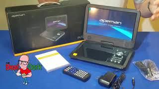 "Apeman 10.5"" Portable DVD Player Review"