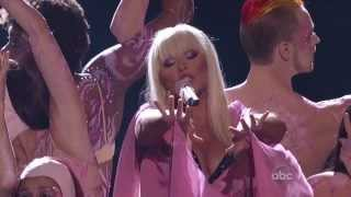 Christina Aguilera - Lotus Intro/ Army Of Me/ Let There Be Love (Live at AMA's, 2012)
