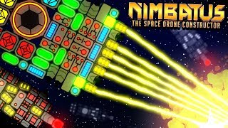 THE INFINITE MOTHERSHIP - Indestructible Regenerating Drone?! - Nimbatus Early Access Gameplay