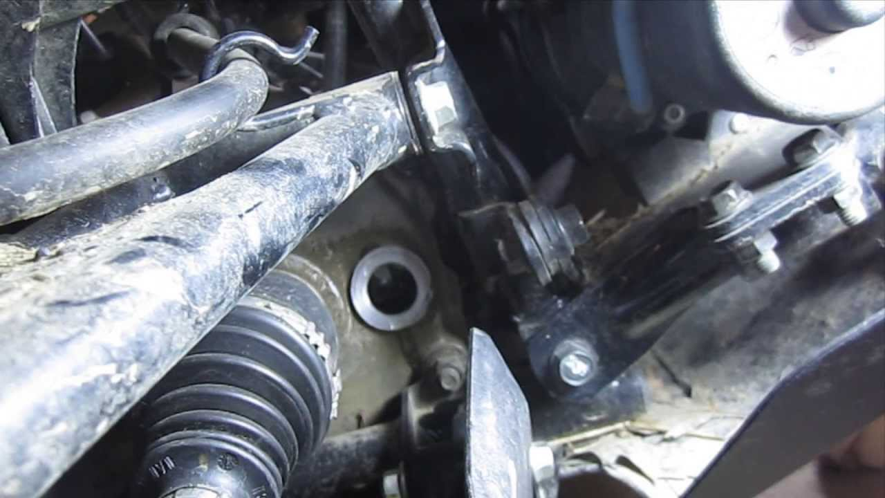 hight resolution of how to change the front differential fluid on a kawasaki brute force prairie and other atvs youtube