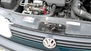 golf 3 tdi 1z 90 pk warm engine sound