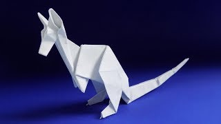 Оригами КЕНГУРУ из бумаги. Оригами животные