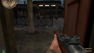 Medal of Honor Allied Assault Exfiltrating