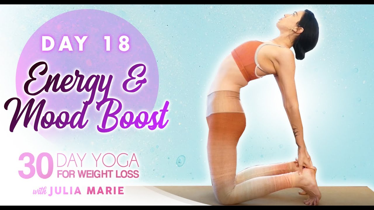 ♥ Boost Energy & Mood with Backbends, 30 Minutes, Julia Marie | Day 18