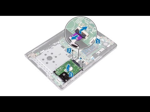 Dell Inspiron 14 3473  -  Hard Drive Replacement  -  Laptop Repair