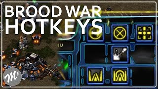 StarCraft Brood War: Hotkey Placement Tutorial (Version 1)