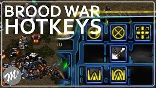 StarCraft Brood War: Hotkey Placement Tutorial (Version 1)