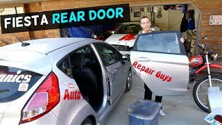 HOW TO REMOVE AND REPLACE REAR DOOR ON FORD FIESTA MK7
