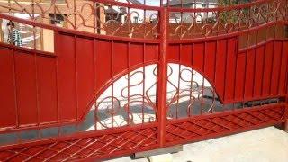Ворота кованые, изготовление на заказ в кузнице(Процесс производства и установки кованых ворот. Видео предоставлено сайтом http://a-kovka.ru., 2016-04-07T14:53:58.000Z)