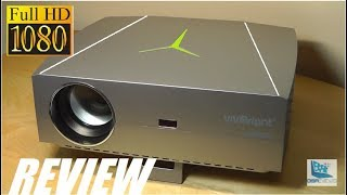 REVIEW: ViviBright F40, Budget FHD Native 1080P Projector!