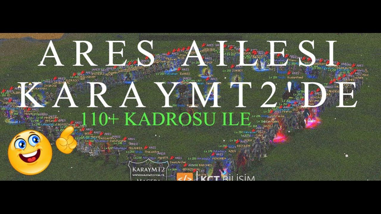 RİNAMT2'YE VEDA [KRAL] ARES AİLESİ 110+ KADROSU İLE KARAYMT2'DE RUZGAR FARKLIYLA !