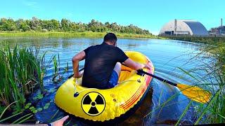 ✅В Чернобыль  на надувных ЛОДКАХ ☢ Проникли в Зону Отчуждения  по ВОДЕ