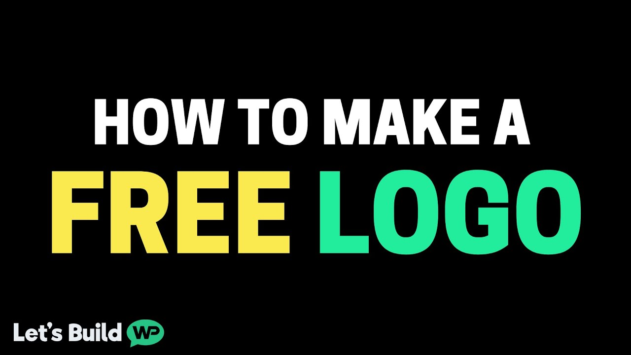 How To Make A Logo Using A Free Logo Maker & No Skill ...