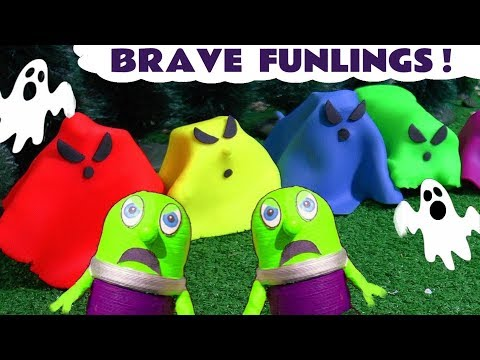 Funny Funlings Brave Adventures with Thomas Ghost Trains Dinosaurs and Disney Cars TT4U