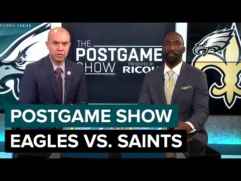 Philadelphia Eagles vs. New Orleans Saints Postgame Show | 2018 Divisional Round