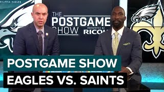 Philadelphia Eagles vs. New Orleans Saints Postgame Show | 2018 Divisional Round
