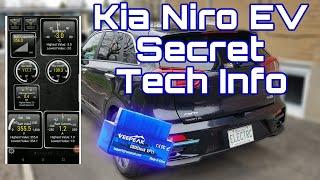Kia Niro EV Secret Tech Information