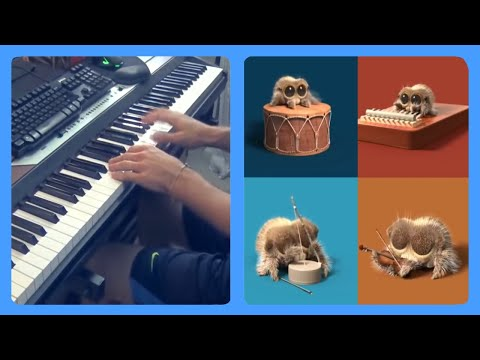 download One Man Band (Lucas The Spider) Piano Dub