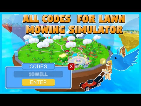 All Codes In Lawn Mowing Simulator
