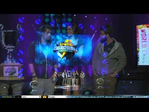 What went down at this year's Smite World Championships
