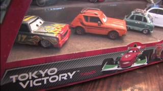 CGR Garage - CARS 2 TOKYO VICTORY 7-Pack review