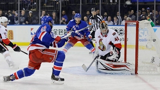 Oscar Lindberg scored a pair to get the Rangers a 4-1 win over the ...