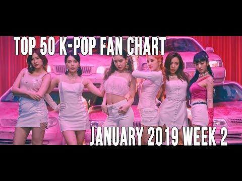 Top 50 K-Pop Songs Chart - January 2019 Week 2 Fan Chart Mp3