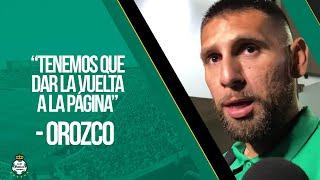 embeded bvideo Atención a medios: Jonathan Orozco - Tigres Vs Santos - Jornada 13 Apertura 2019