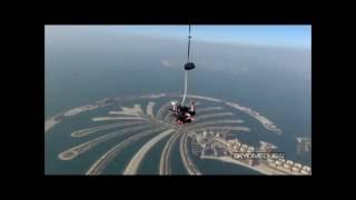 Skydive Dubai - Skydiving over Palm Jumeirah - air guns