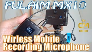 FUL.AIM  MX10 Test: Wireless Mobile Microphone - Lavalier Micro Set ...