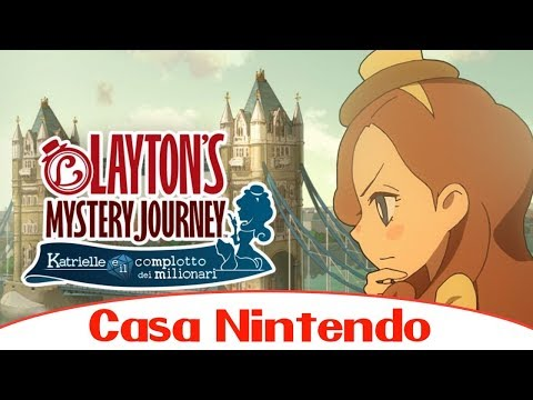 Parliamo di... Layton's Mistery Journey - Nintendo 3DS
