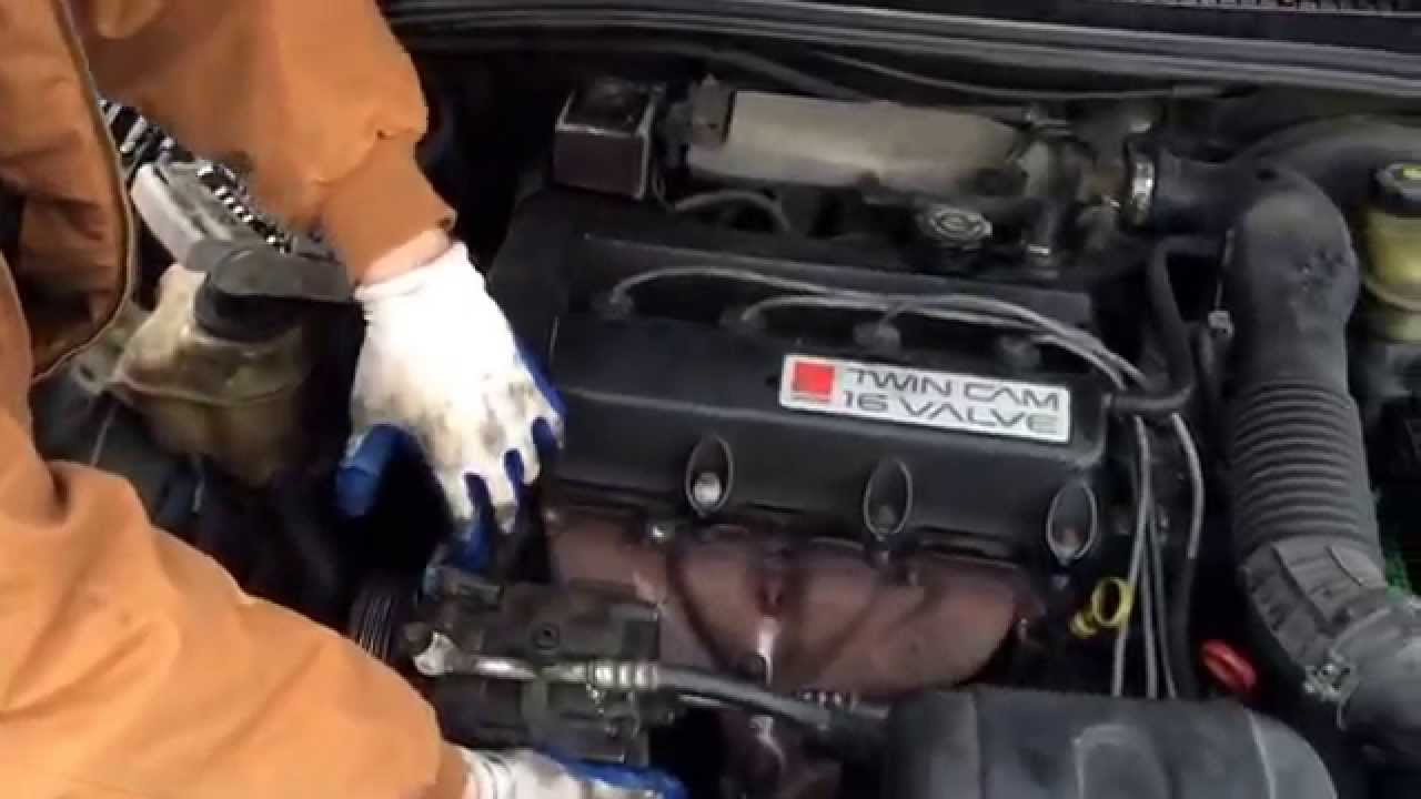 how to change water pump 1988-08 saturn