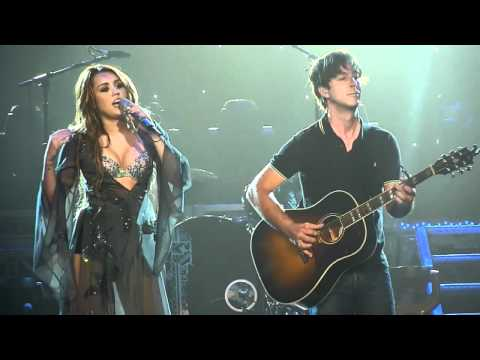 Miley Cyrus - Landslide HD - Live From Brisbane Australia