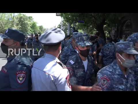 Armenia: Dozens Detained At Protest Against Pashinyan Government In Yerevan