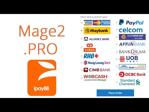 Payment modules implementation - Magento 2