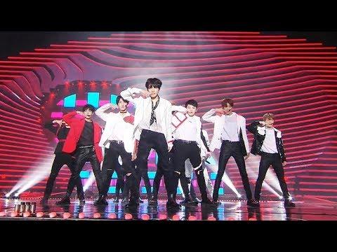 SEVENTEEN세븐틴, 박력 넘치는 그들의 무대 'CALL CALL CALL!' @2018 SBS 가요대전