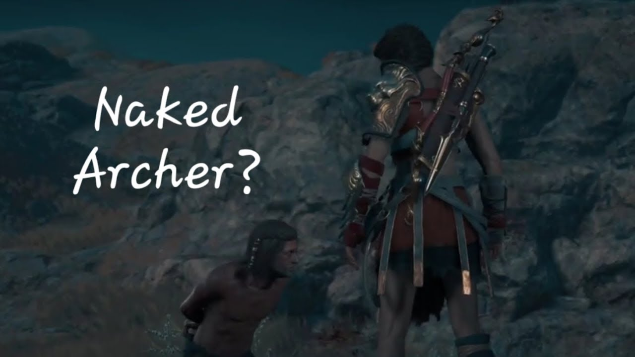 Explore the Cave and Acquire the naked Archers Amulet
