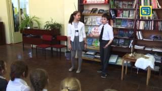 Старт недели детской и юношеской книги в Аз-Буки эфир 26 03 15
