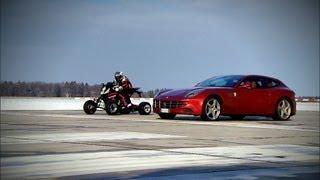 Ferrari Four vs. Quad - GRIP - Folge 226 - RTL2