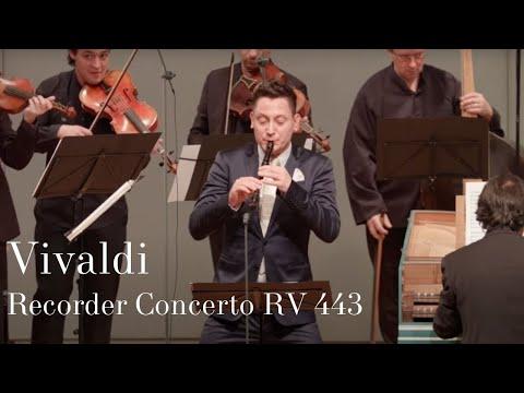 Antonio Vivaldi: Recorder Concerto RV 443 / Maurice Steger, Cappella Gabetta