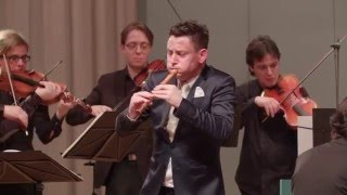 Amazing Recorder Playing. Antonio Vivaldi: Recorder Concerto RV 443 / Maurice Steger, Cappella Gabet